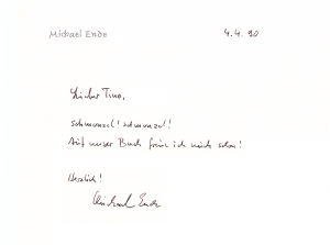Michael Ende Brief Kopie