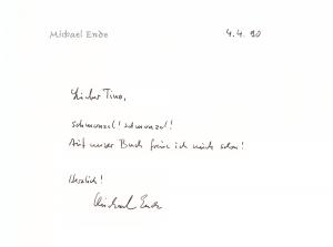 Michael Ende Brief Kopie